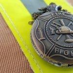 Montre de poche incendie / Firefighter bronze watch