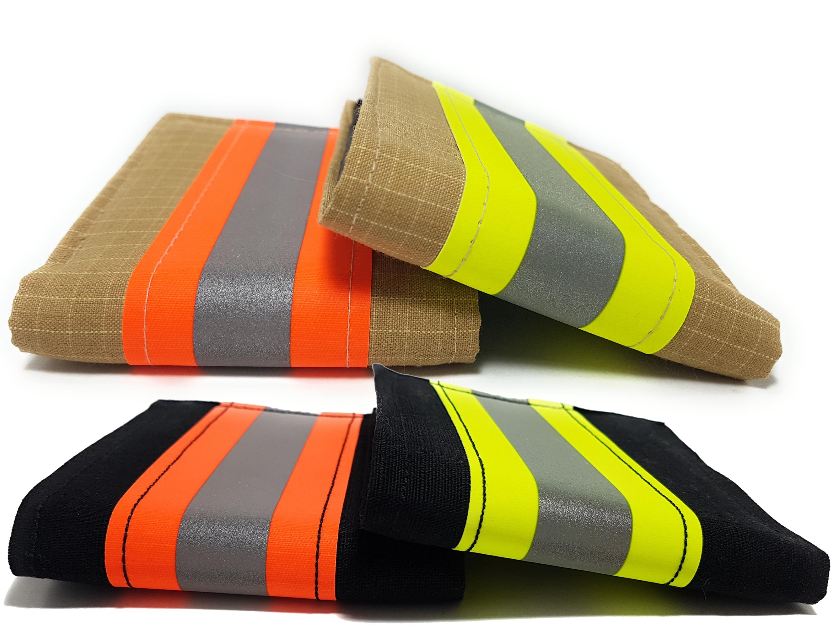 Firefighter Wallet Bifold Original Turnout Bunker Gear Fabric